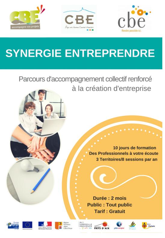 Creation Et Reprise D Entreprise Cbe Sud Luberon